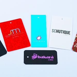 Diseño y elaboración de etiquetas impresas.
