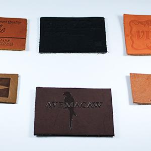 Diseño y elaboración de etiquetas de piel.
